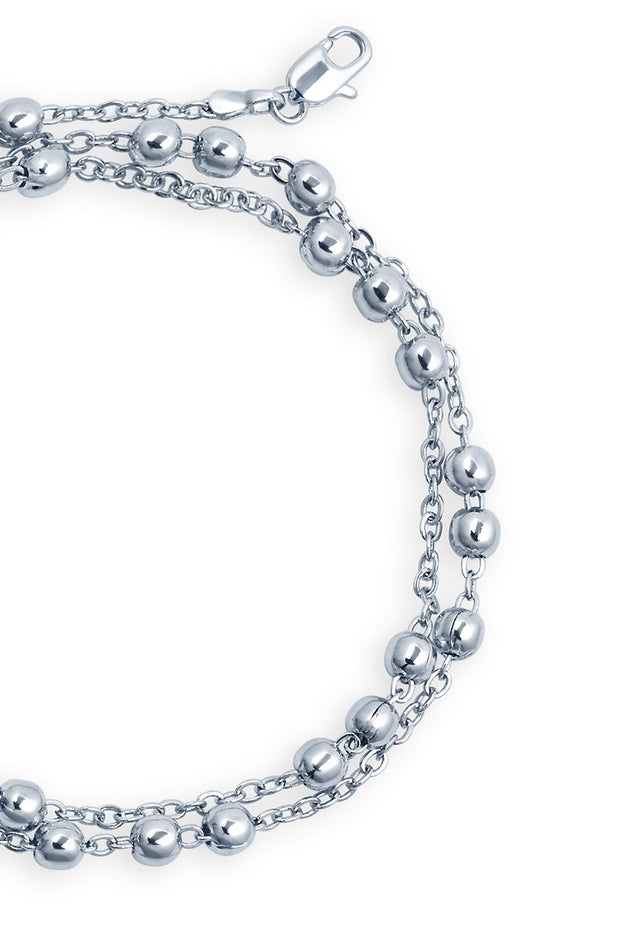 Women's Alloy Chain in White
