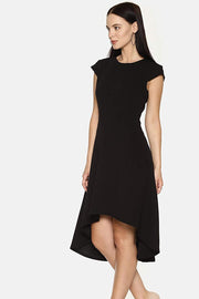 Rayon Dress in Black