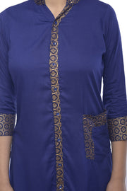 Rayon Tunic in Royal Blue