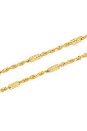 Unisex Alloy Chain in Gold