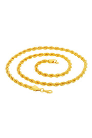 Men's Alloy Combo Necklace Set in Gold