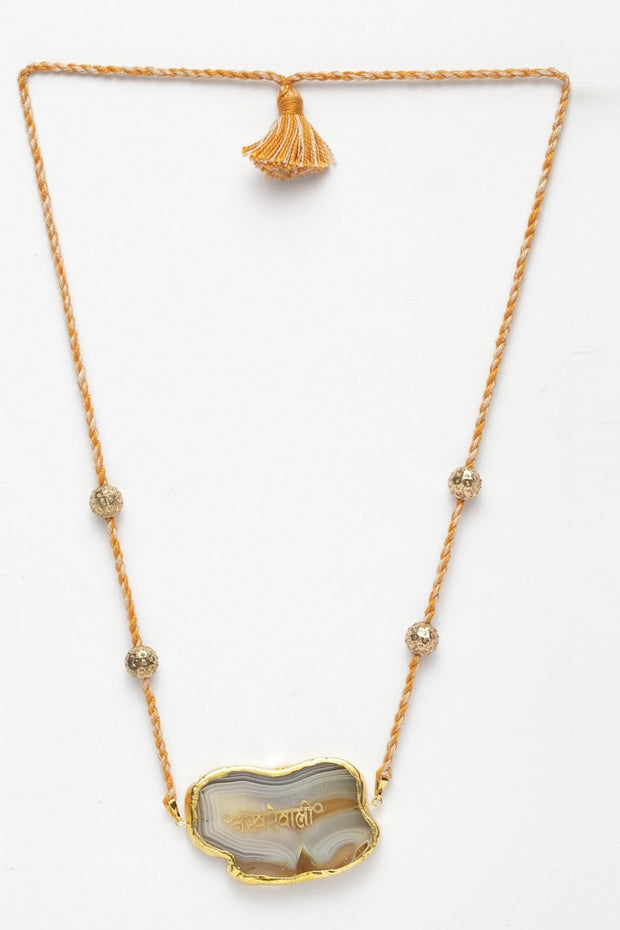 Women's Copper Necklace in Yellow