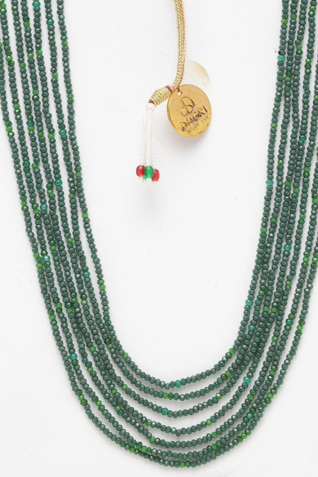 Women's Alloy Necklace in Green