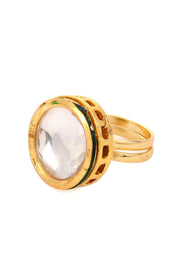 Women's Alloy Ring in Gold