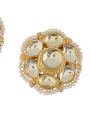 Women's Alloy Studs Earrings in Gold