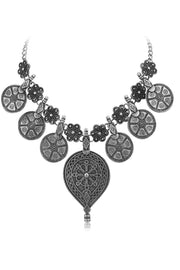 Women's Alloy Necklace in Silver