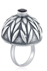 Women's Alloy Ring in Silver