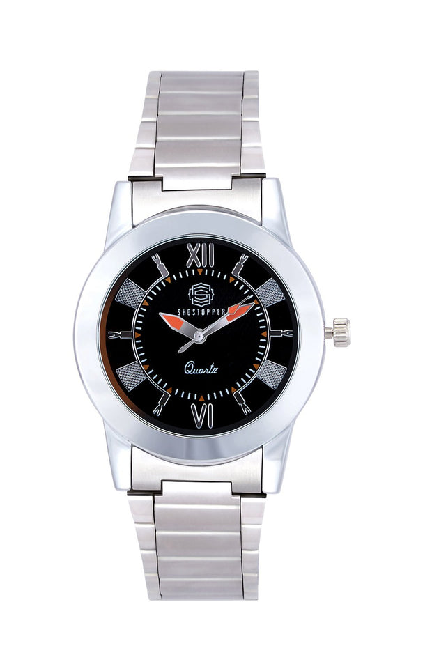 Unisex Metal Watches in Silver