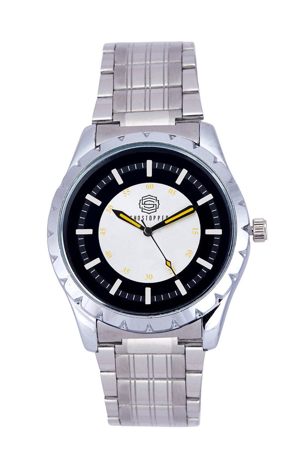Men's Metal Watches in Silver