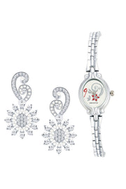 Women's Alloy Watches in Silver