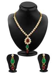 Women's Alloy Necklace Set in Multicolor
