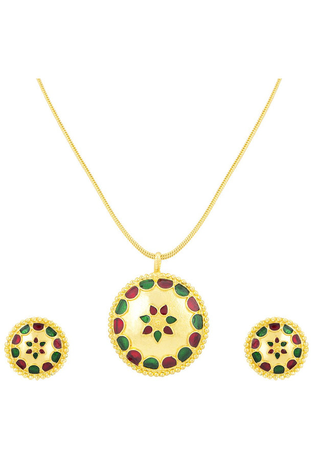 Women's Alloy Pendant Set in Multicolor