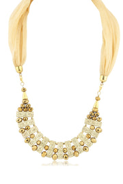 Women's Alloy Scarf Jewellery in Gold