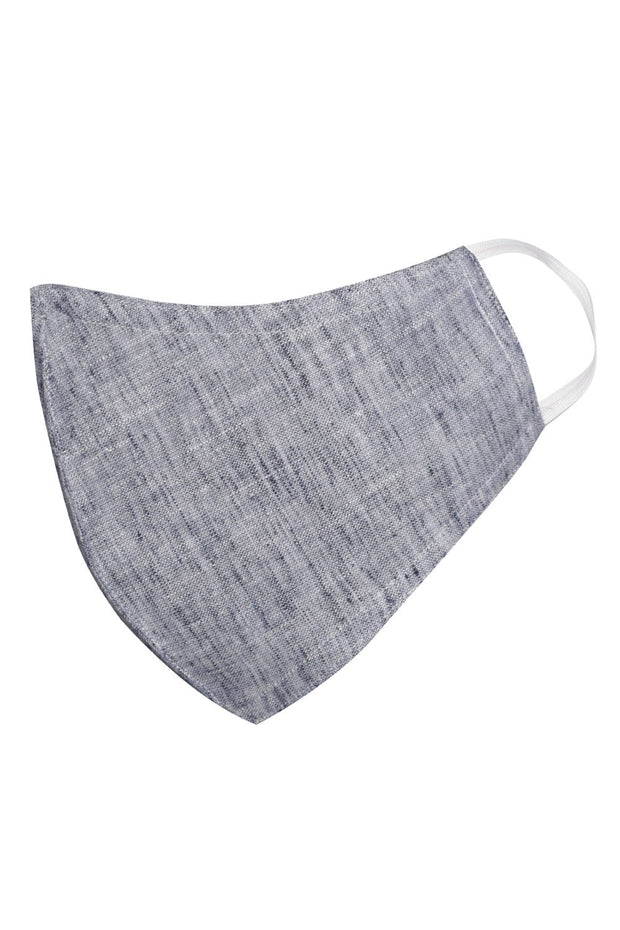 Unisex Cotton Blend Face Mask in Grey