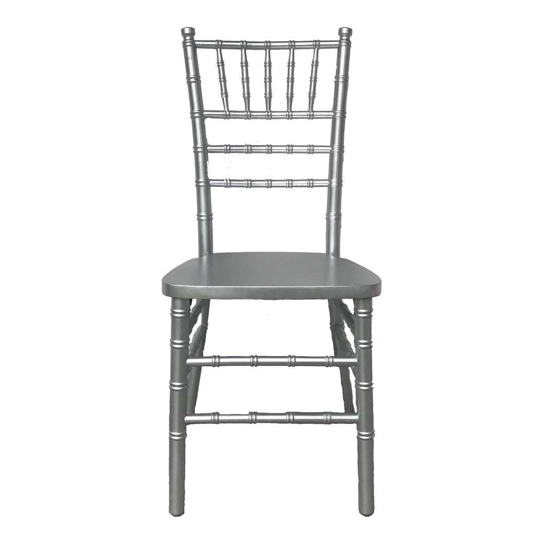 Silver Tiffany Chair - Tiffany Chairs Rental