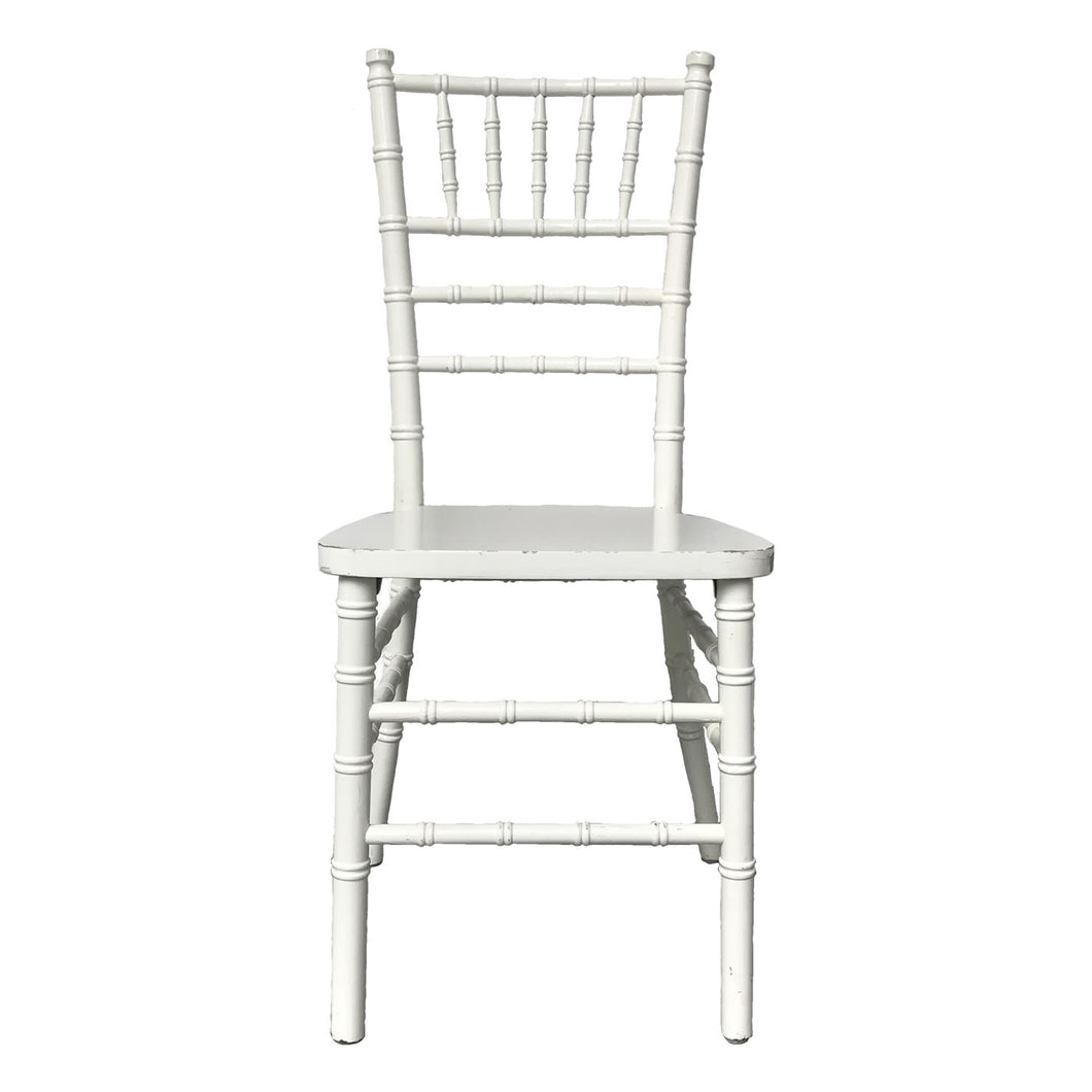 White Tiffany Chair - Tiffany Chairs Rental