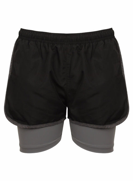 2 IN 1 SHORTS freeshipping - athleticsportswear.co.uk
