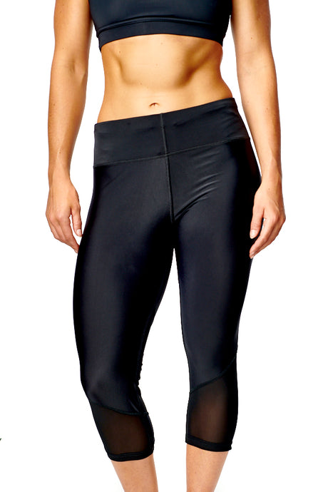 3/4 MESH LEGGINGS freeshipping - athleticsportswear.co.uk