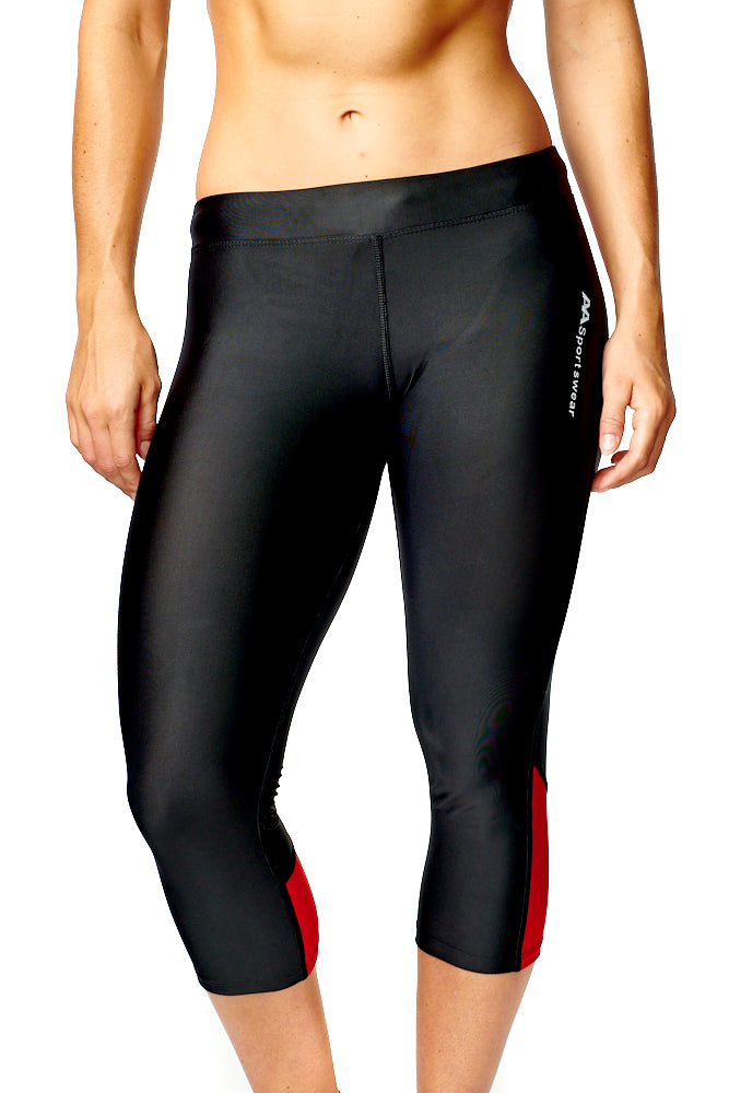 Womens 3/4 Active Wear Leggings