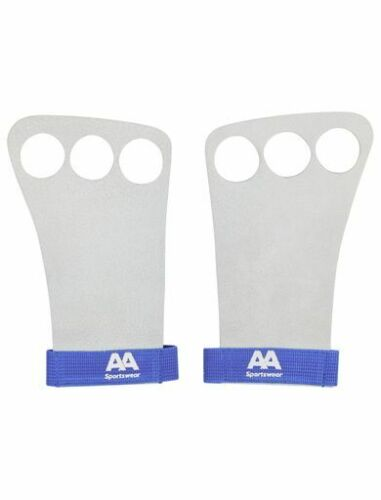 AA sportswear Unisex weightlifting gloves pure leather Perfect grip for hands