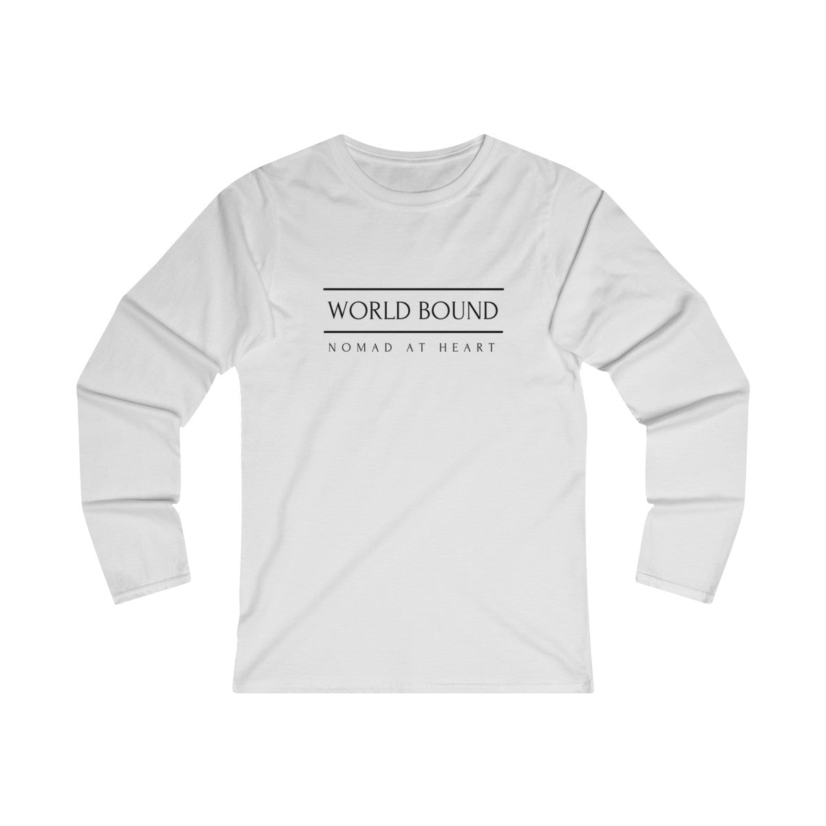 Fitted Long Sleeve Tee - The Nomad Style