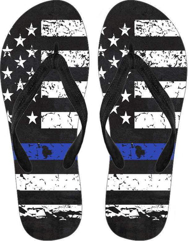 Thin Blue Line Flip Flops - Deals For Top Trends