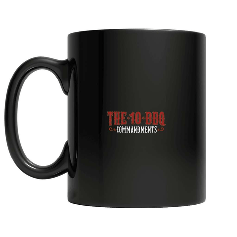 The 10 BBQ Commandments Coffee Mug - Deals For Top Trends