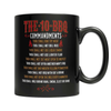 Image of The 10 BBQ Commandments Coffee Mug - Deals For Top Trends