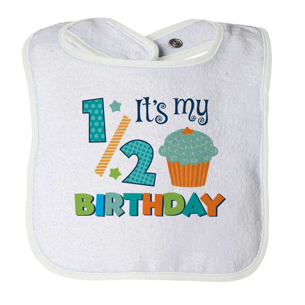 Half Birthday Baby Bib - Deals For Top Trends