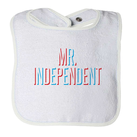 Mr Independent Baby Bib - Deals For Top Trends