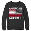 Image of American muscle - flag custom shirts