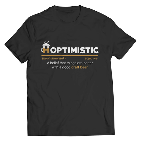 Hoptimistic T-Shirt - Deals For Top Trends