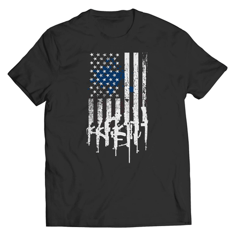 American Flag Rifles T-Shirt - Deals For Top Trends