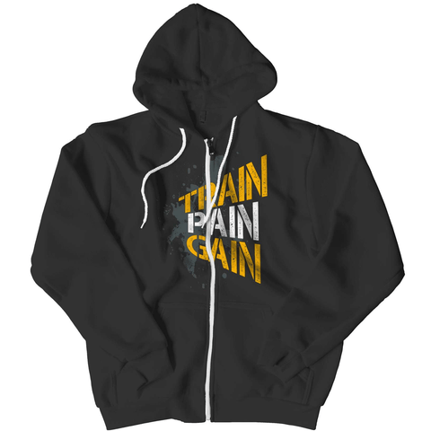 Train Pain Gain Hoodie - Deals For Top Trends