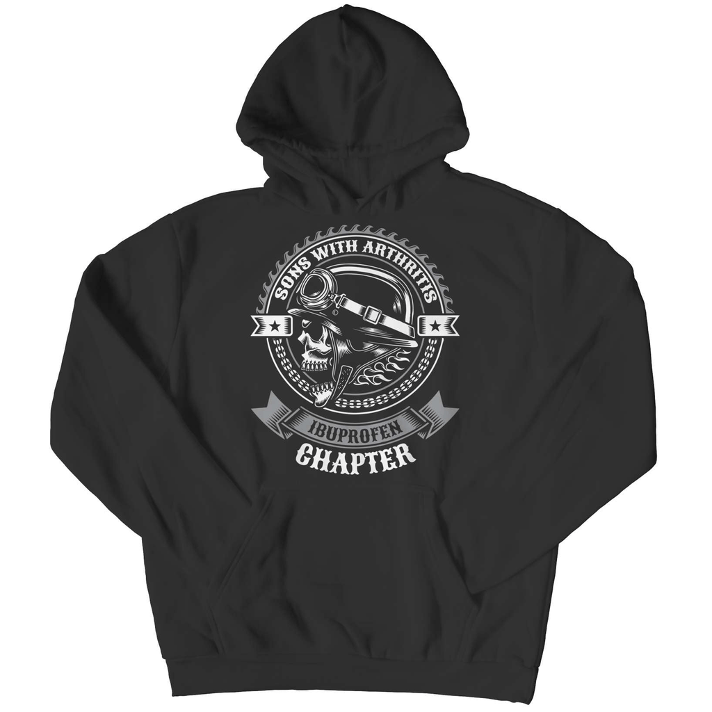 Sons Of Arthritis - The Ibuprofen Chapter Pullover Hoodie - Deals For Top Trends