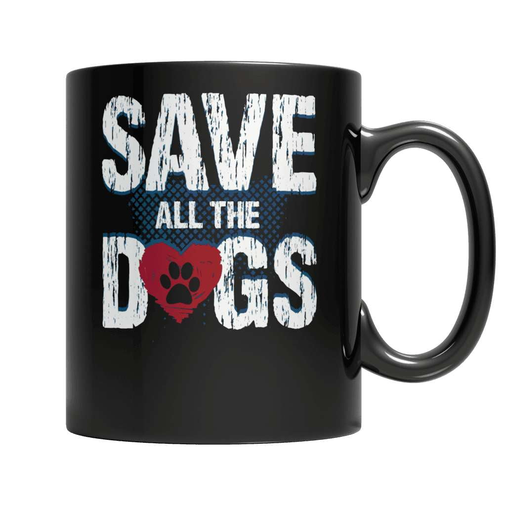Save All The Dogs 2 Coffee Mug - Deals For Top Trends