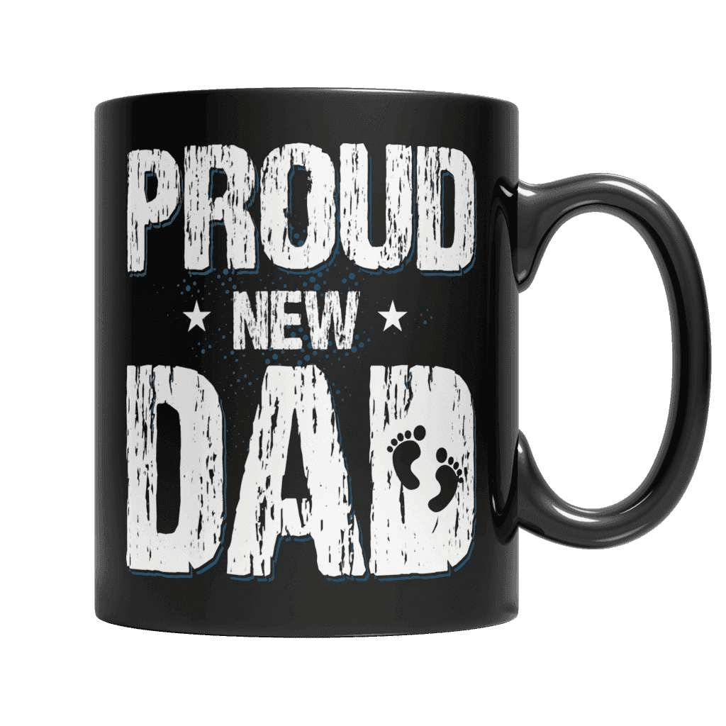 Proud New Dad Coffee Mug - Deals For Top Trends