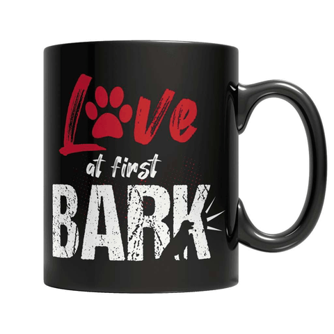 Love At First Bark Coffee Mug - Deals For Top Trends