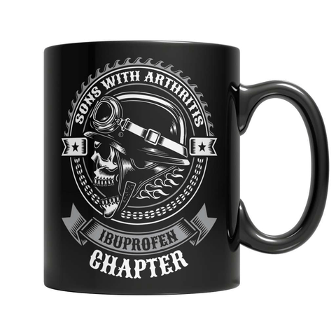 Sons Of Arthritis - The Ibuprofen Chapter Coffee Mug - Deals For Top Trends