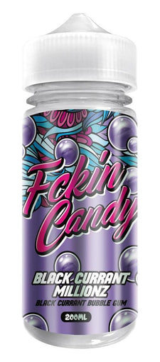 Fckin Candy Black Currant Millionz 200ml