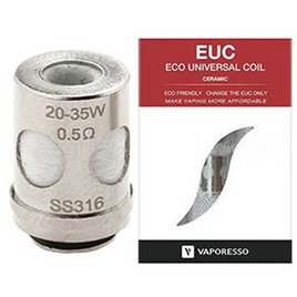 VAPORESSO - EUC ECO UNIVERSAL COIL CERAMIC (SINGLE)
