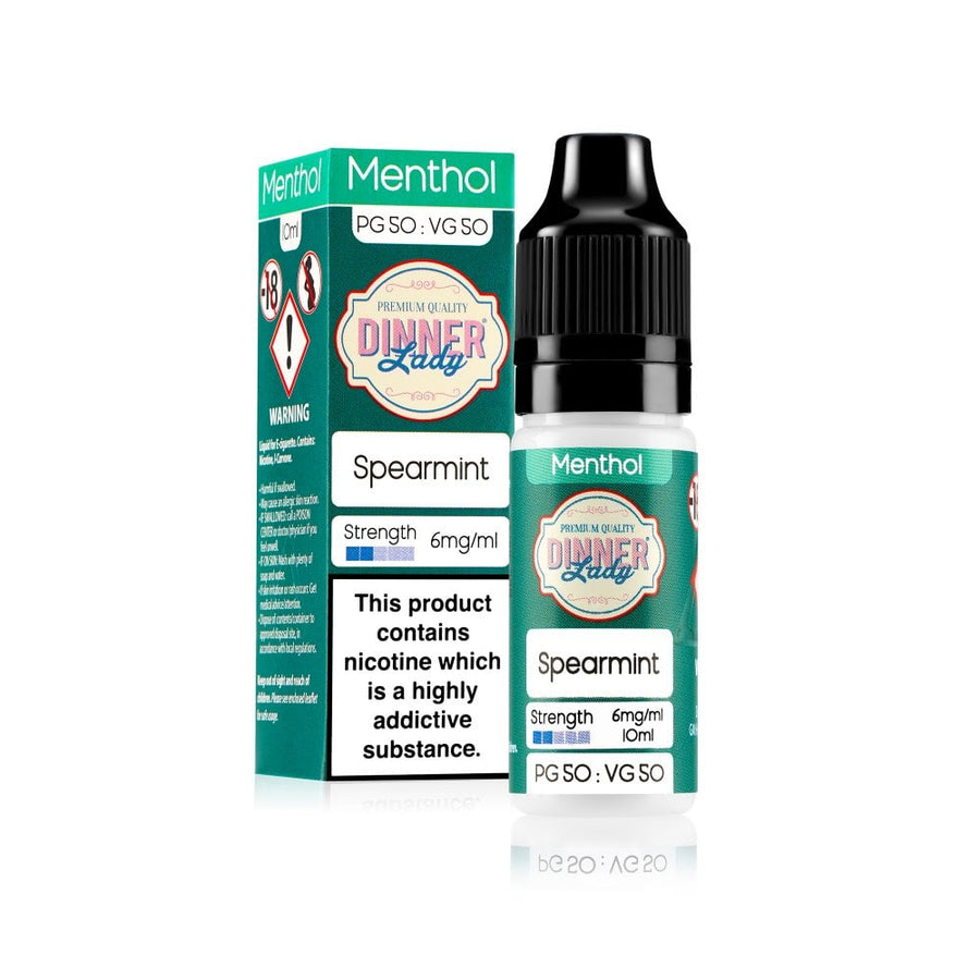 SPEARMINT E-LIQUID BY DINNER LADY 50/50