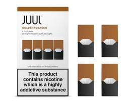 JUUL POD 4-PACK GOLDEN TOBACCO