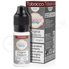 ORIGINAL TOBACCO E-LIQUID BY DINNER LADY 50/50