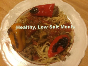 Linguine w/ Sausage Stuffed Mini Peppers