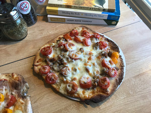 Cheese & Sausage Pizza