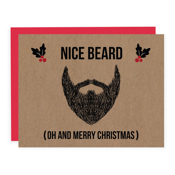 Christmas Beard | Card or Boxed Set