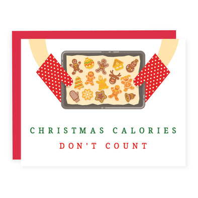 Christmas Calories Don't Count  | Card or Boxed Set