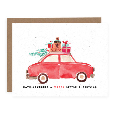 Christmas Car | Card or Boxed Set