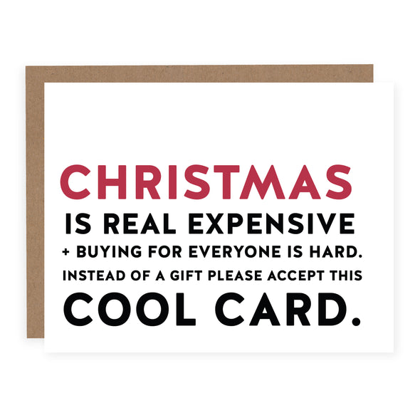 Christmas is Real Expensive | Card or Boxed Set